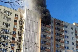 Pożar na kopernika  Foto: materiały / zrzutka.pl