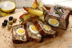 Pieczen rzymska z jajkiem  Foto: materiały prasowe / Knorr