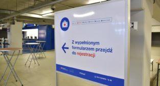 Poznański punkt szczepień  Foto: materiały prasowe / UMP