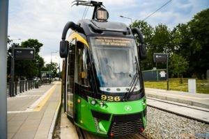 Pierwsze tramwaje na trasie do Naramowic  Foto: materiały prasowe / UMP