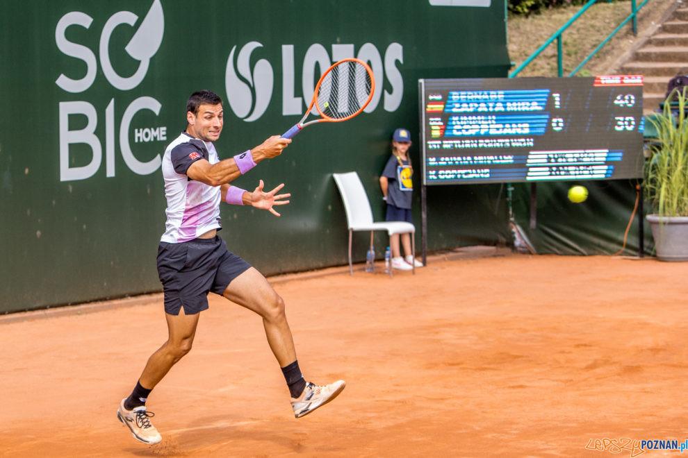Benabe Zapata Miralles (ESP) vs Kimmer Coppejans (BEL) - Poznan  Foto: Paweł Rychter / Poznań Open 2021