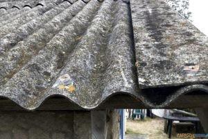 azbest  Foto: materiały prasowe / ugstarogard.pl